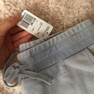 Forever 21 Pants - BABY BLUE JOGGERS